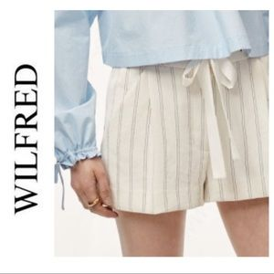 Wilfred Exergue Striped Shorts